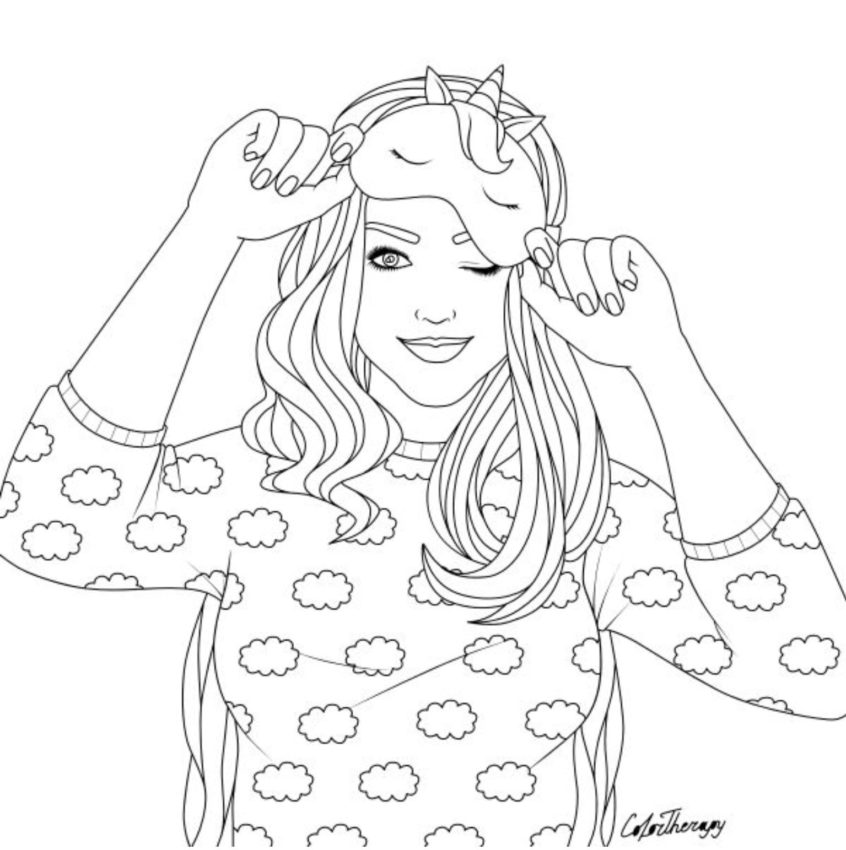 Printable Coloring Pages For Girls Ideas - Whitesbelfast - Coloring Home