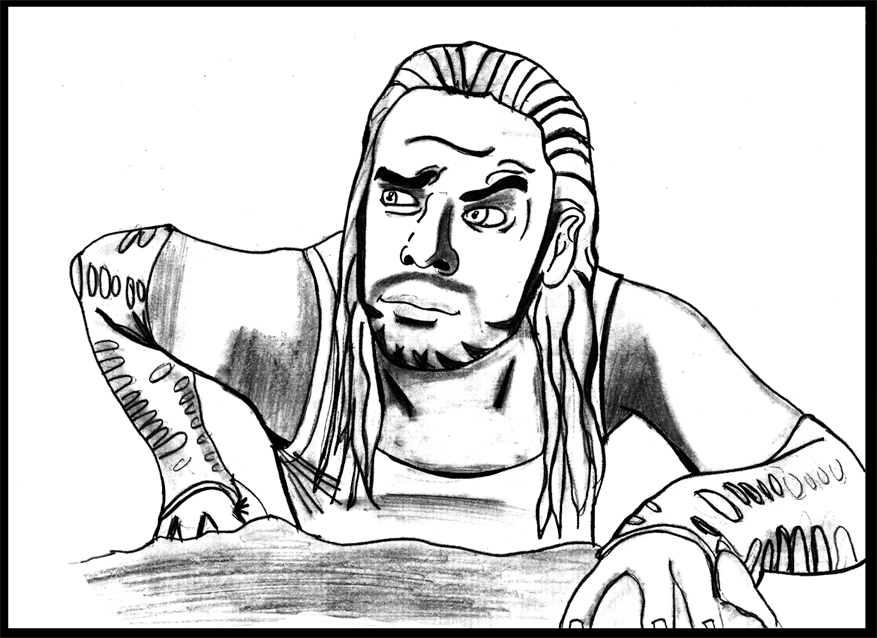 Jeff Hardy Coloring Page