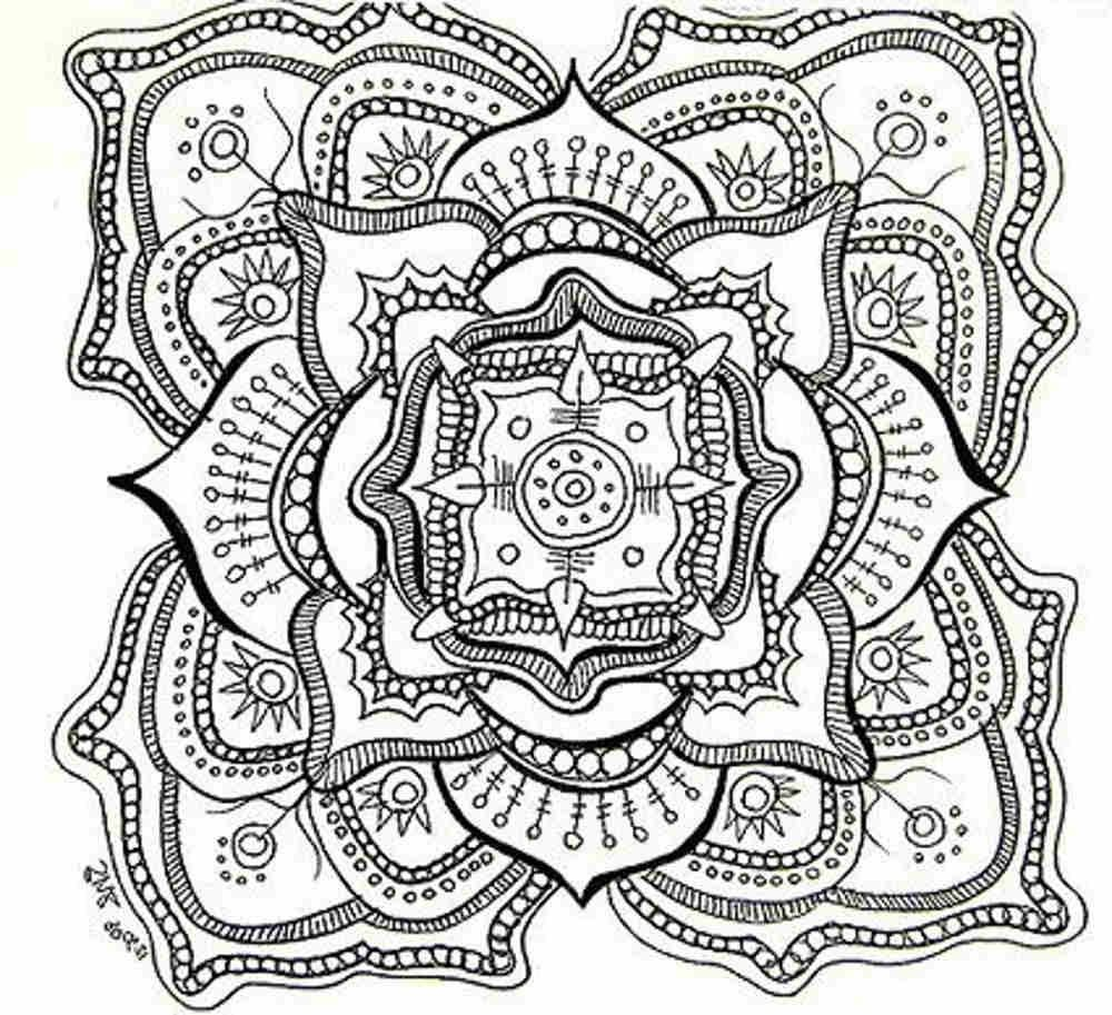 Printable coloring pages adults free - Coloring Pages Coloring Pages On Coloring Pages For Adults