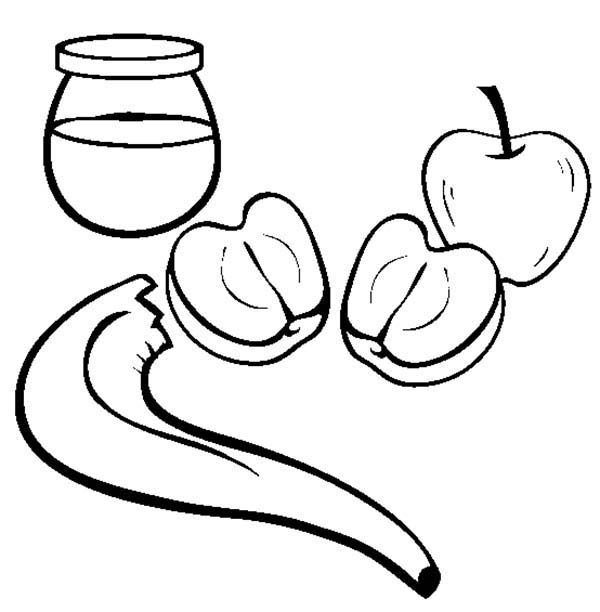 rosh hashanah coloring pages - photo#34