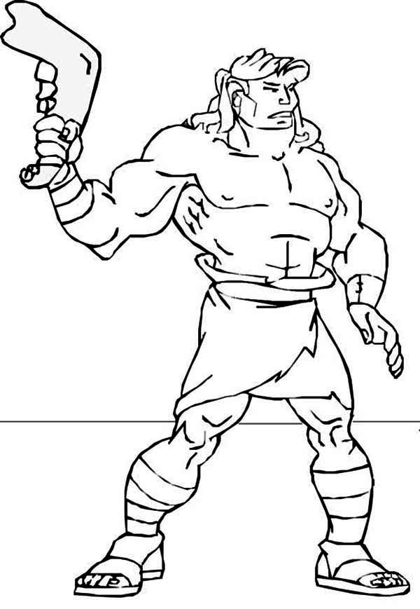 samson and delilah coloring page - coloring pages of samson az coloring pages