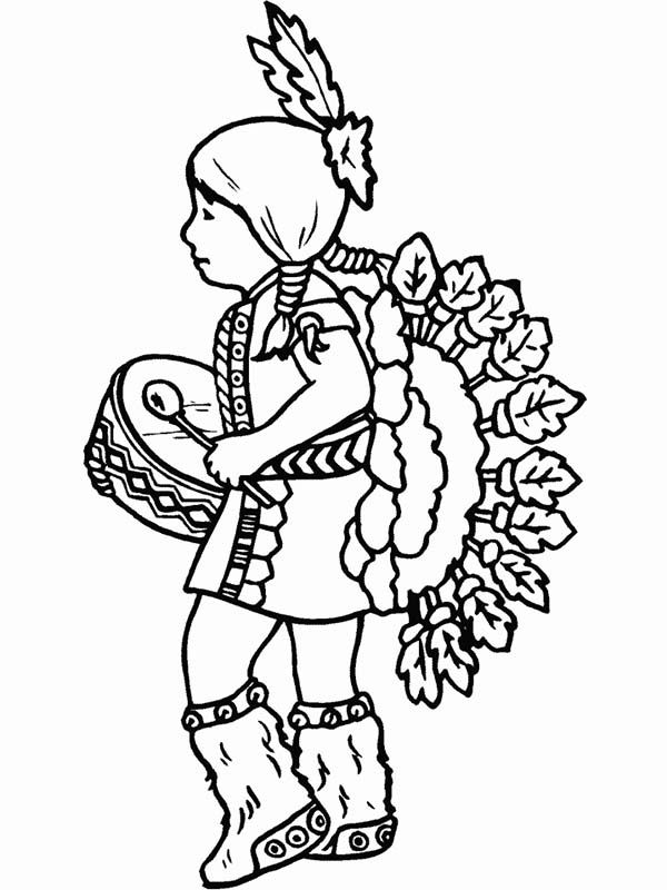 9 pics of native american women coloring pages native american