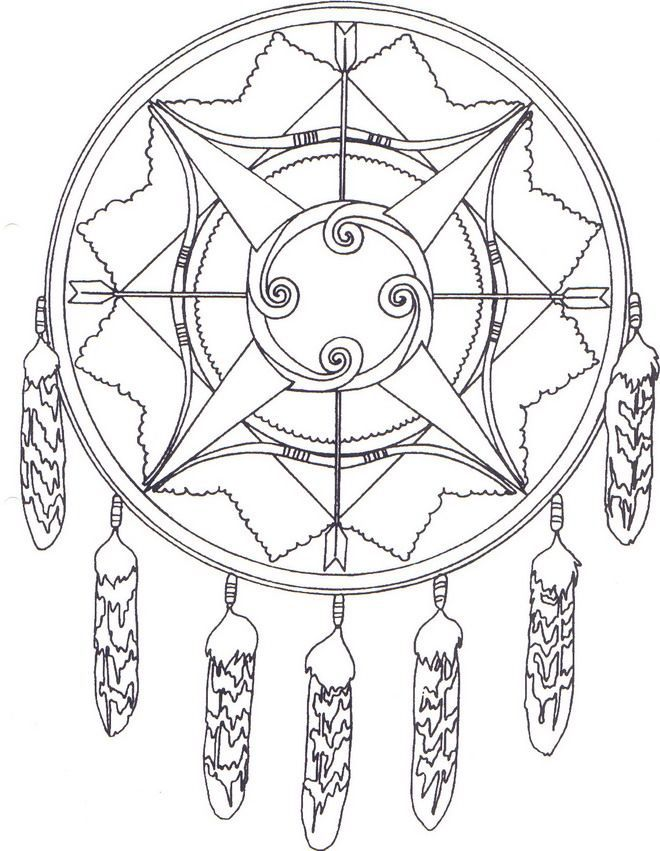 native american coloring pages printable | Kids-n-fun | Coloring ...