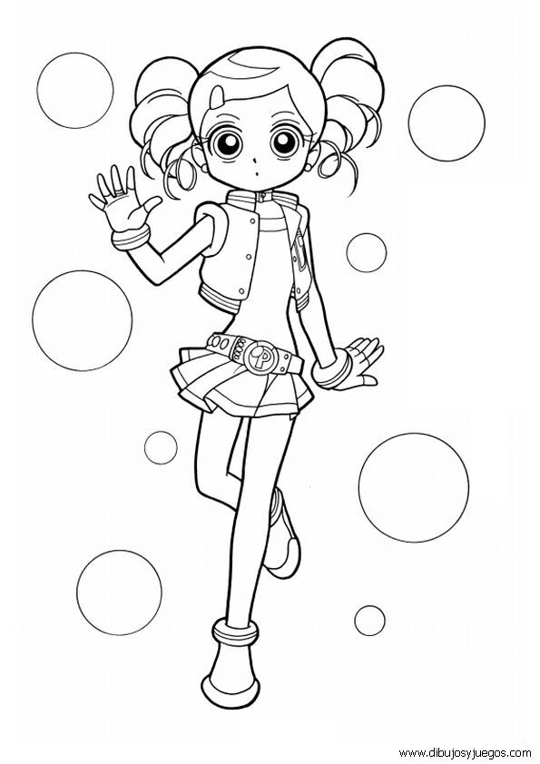 Power Puff Girls Z Coloring Pages Coloring Home Powerpuff Z Coloring Pages
