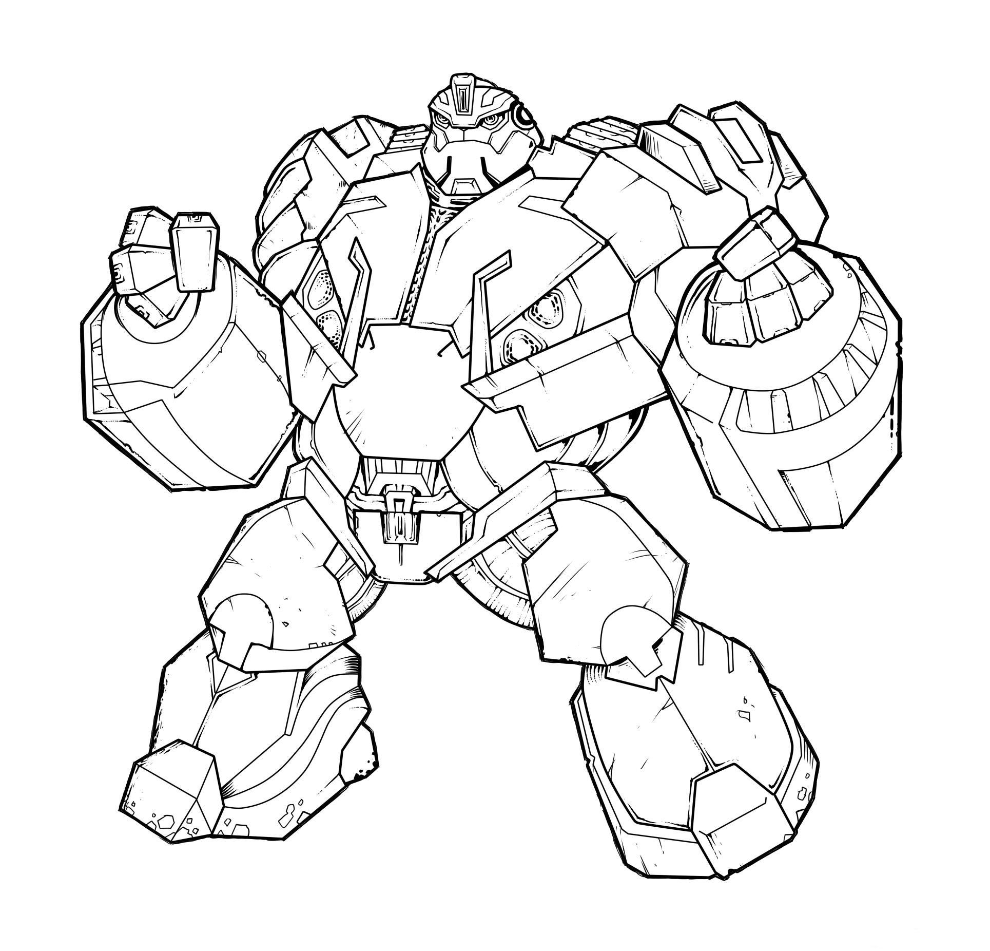 Bumblebee Transformers Coloring Pages - Coloring Home | 1852x1929