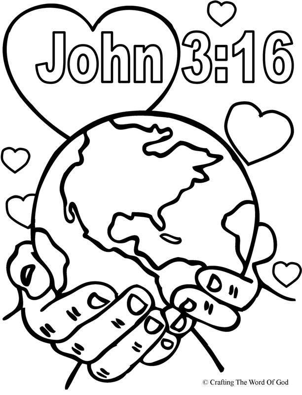 I Love Jesus Coloring Pages