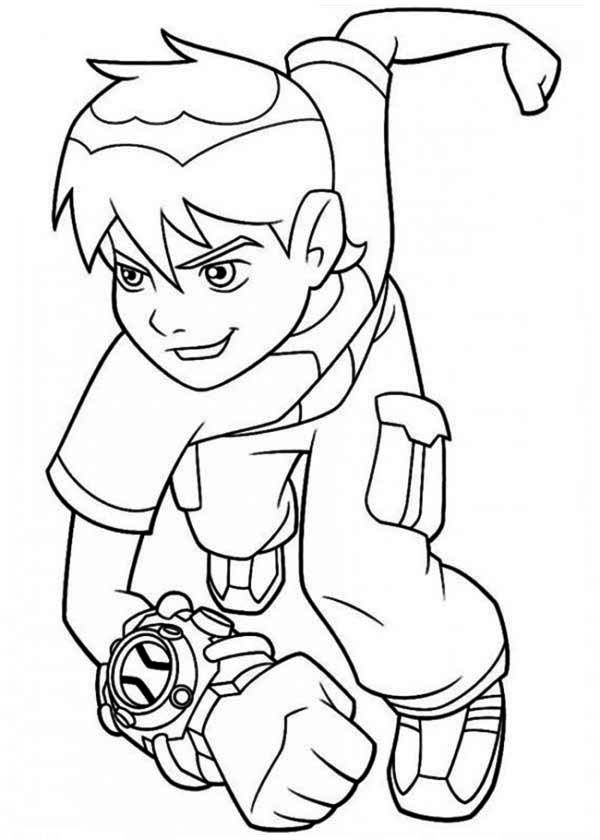 Ben 10 Ultimate Alien Coloring Pages Printable