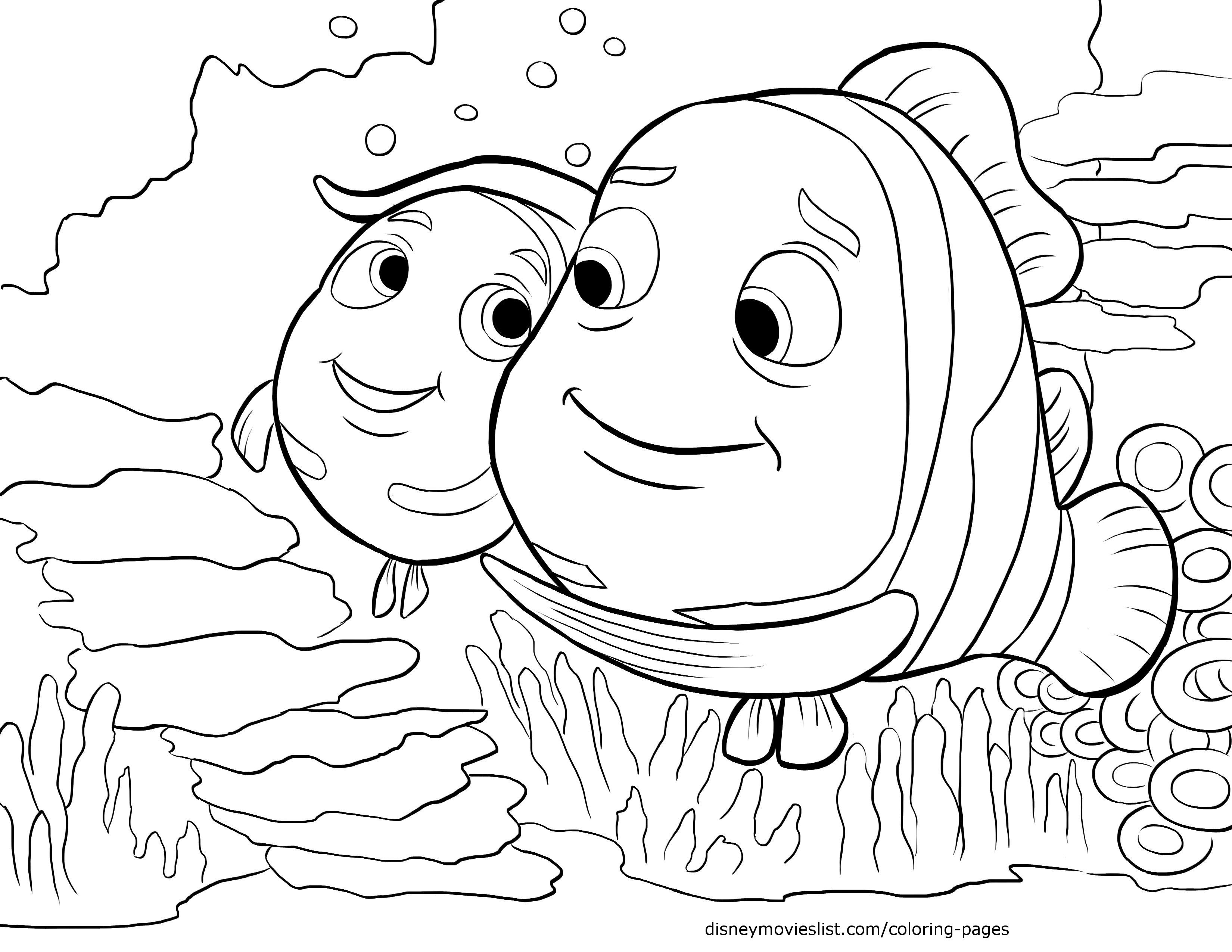 - Finding Nemo Coloring Pages - Coloring Home