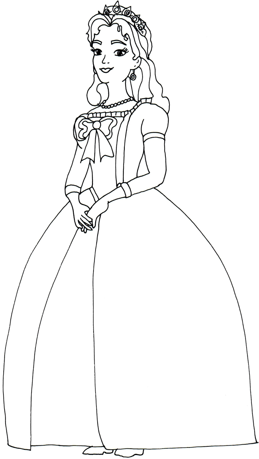 Queen coloring page high quality coloring pages