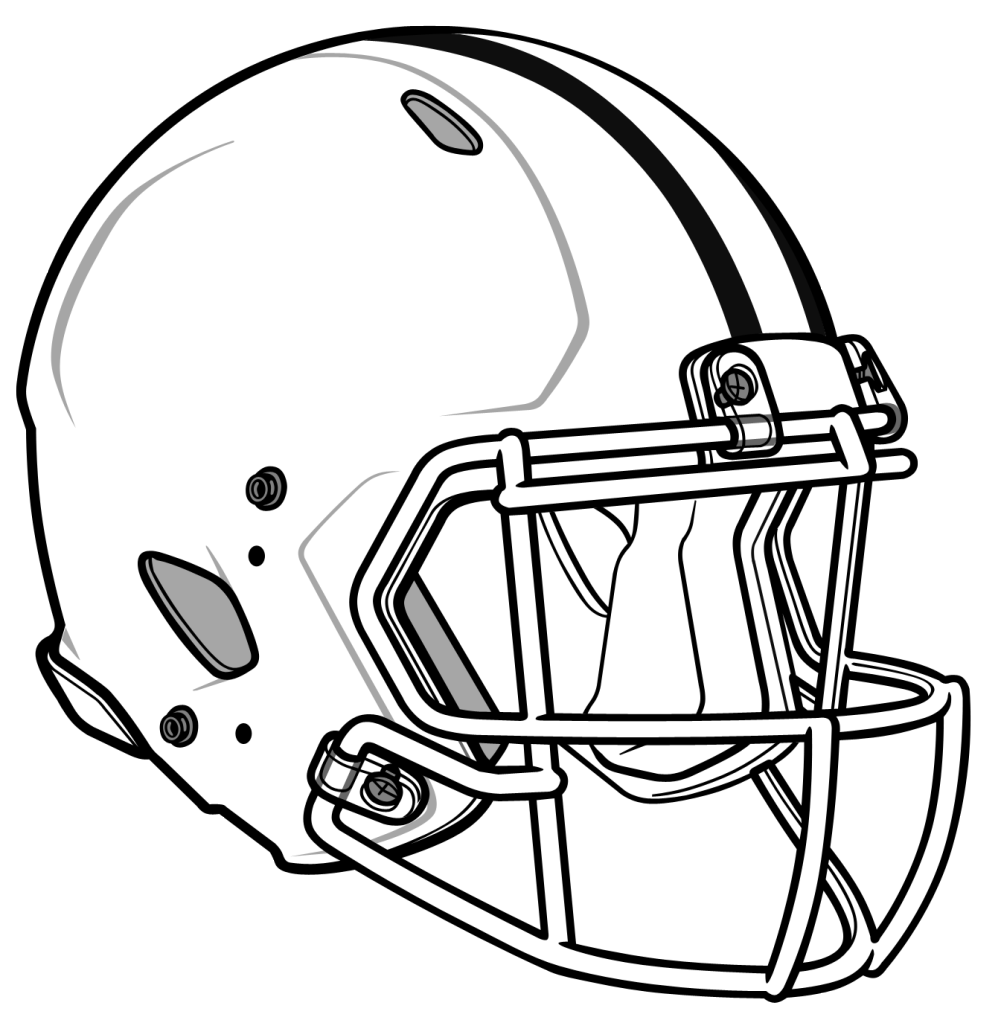 football helmet coloring page coloring page. printable alabama ...