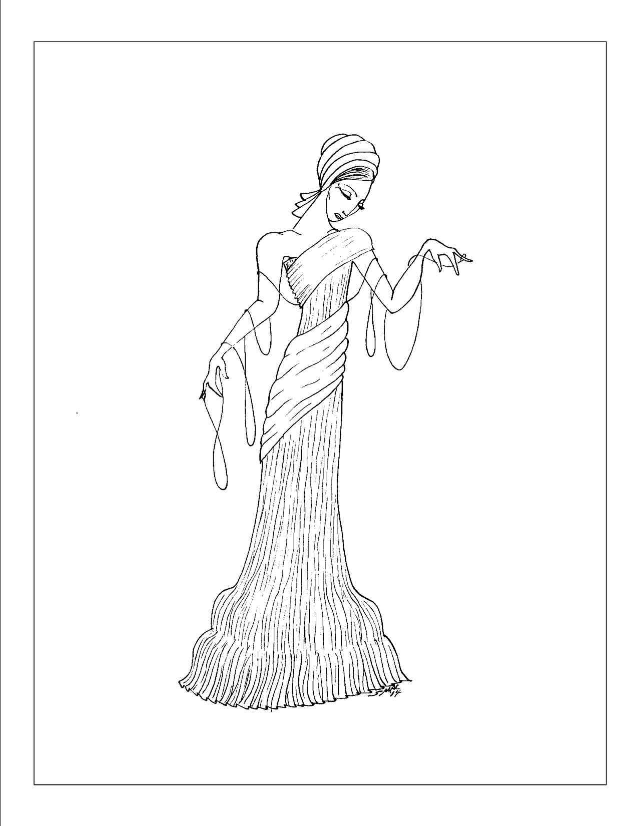 Aart deco coloring pages coloring home for Free art deco coloring pages