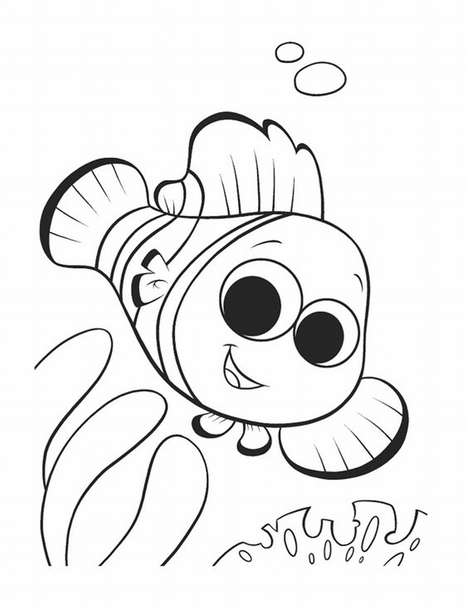 11 Pics of Nemo Coloring Pages Free Printable - Finding Nemo ...
