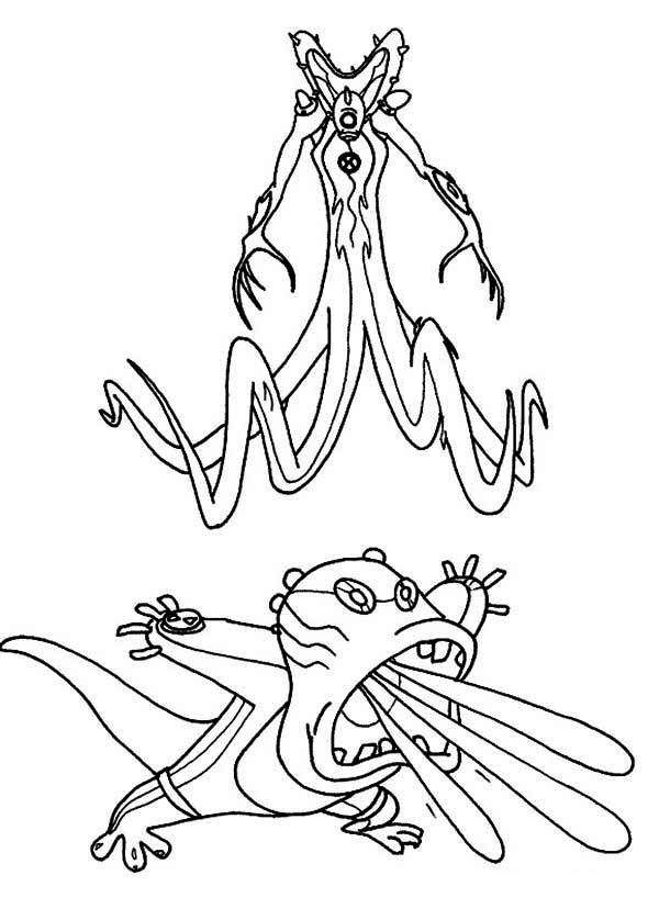 ultimate heatblast coloring pages - photo#37