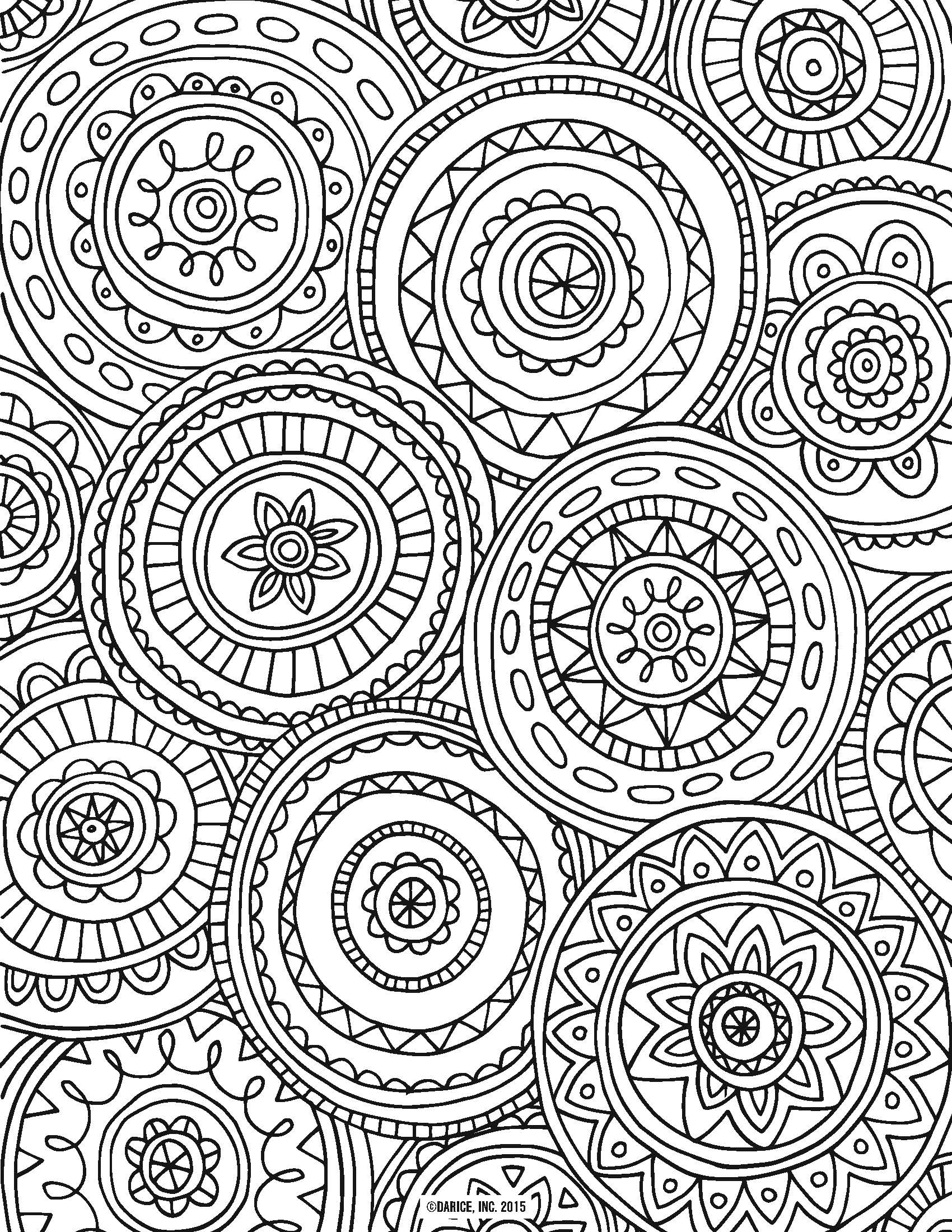 free ship printable doodle art coloring pages. free coloring page ...