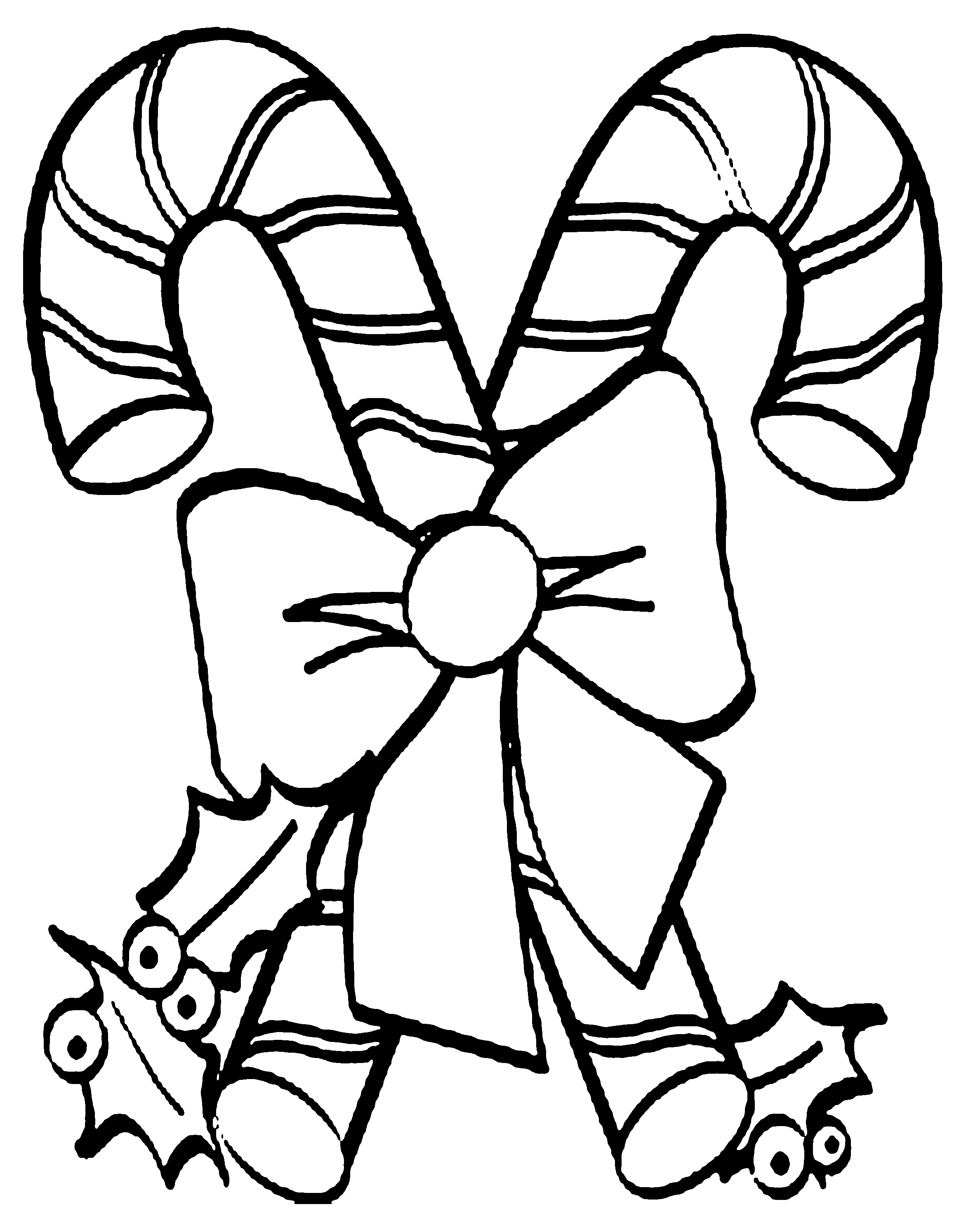 Printable candy cane coloring pages coloring home for Candy color pages