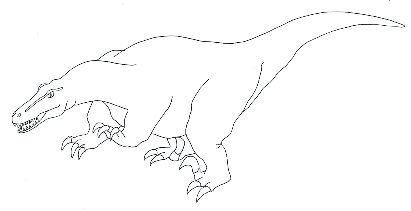 deinonychus coloring pages - photo#3