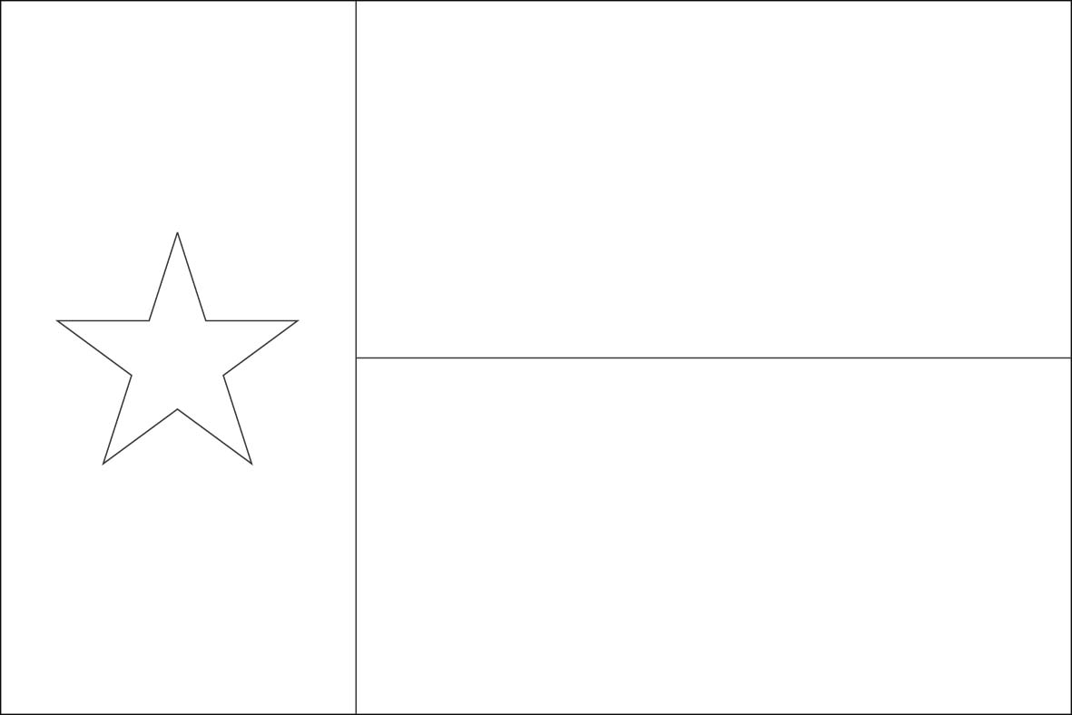 Texas flag coloring pages az coloring pages for Arizona flag coloring page