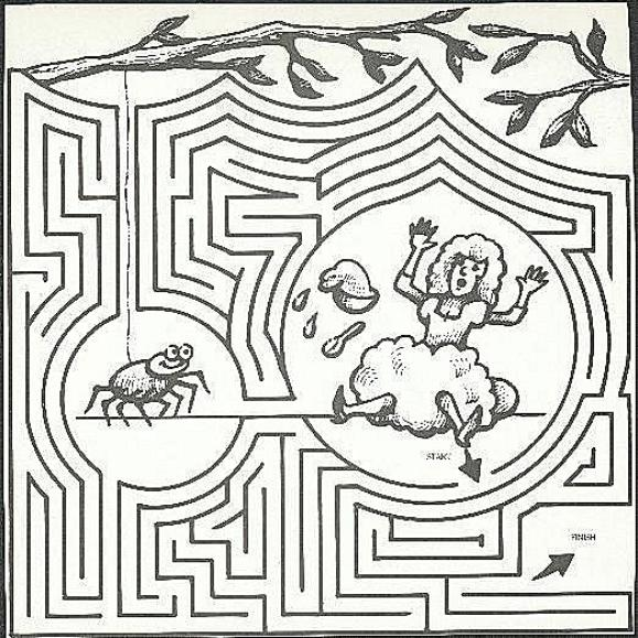 little miss muffet coloring pages - photo#34