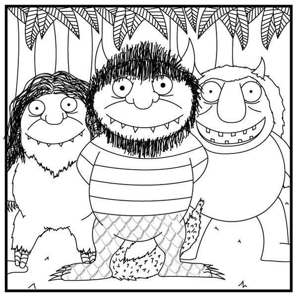 where the wild things are coloring page where the wild things are coloring pages coloring home