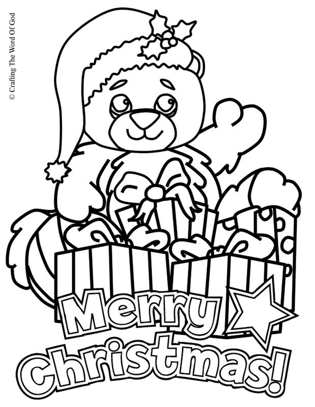 christmas coloring page crafting the word of god coloring home
