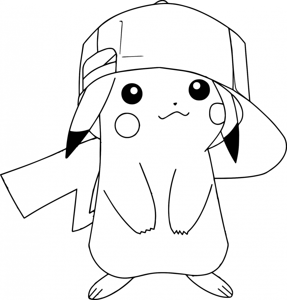 Get This Pokemon Pikachu Coloring Pages yt831 !