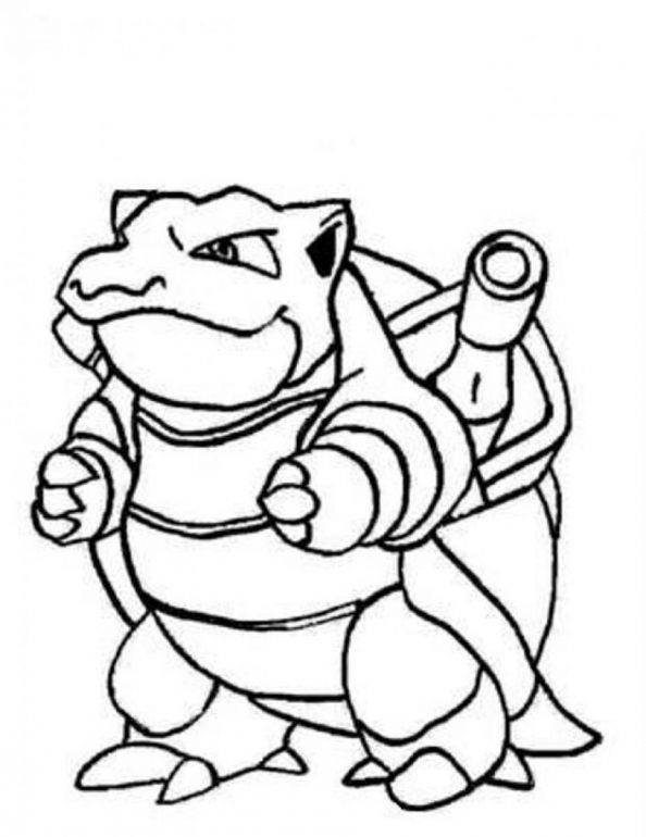 Mega Blastoise Ex Coloring Page - Coloring Home