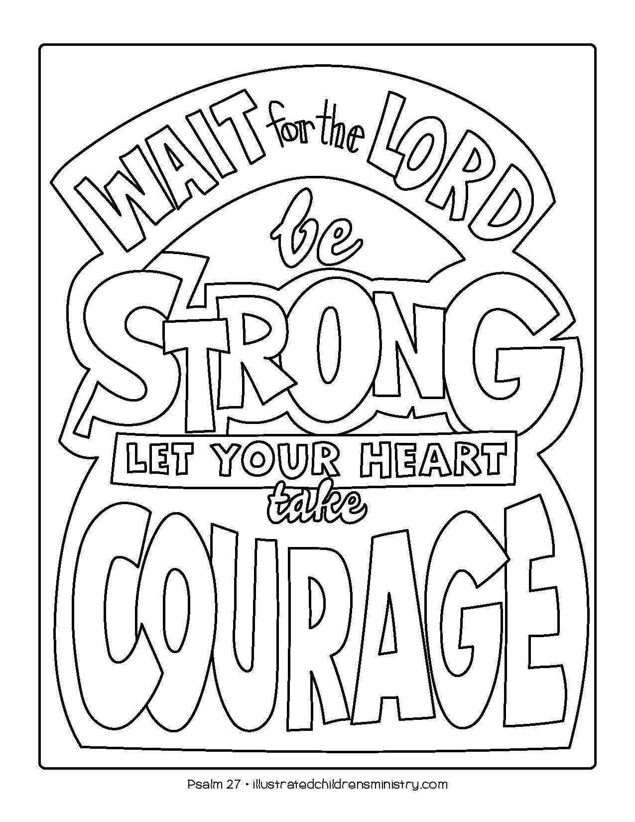 Bible Story Coloring Pages: Spring 2019 - Illustrated Ministry