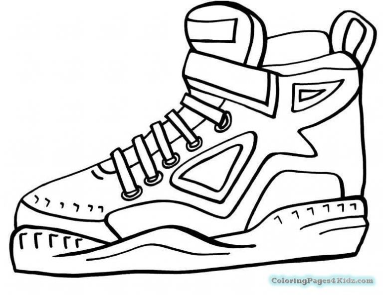 Lebron Shoes Drawing | Free download on ClipArtMag