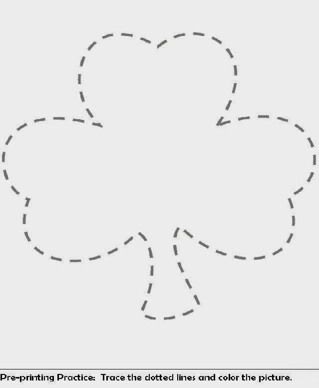 Shamrock Coloring Pages | Free Coloring Pictures - Coloring Home
