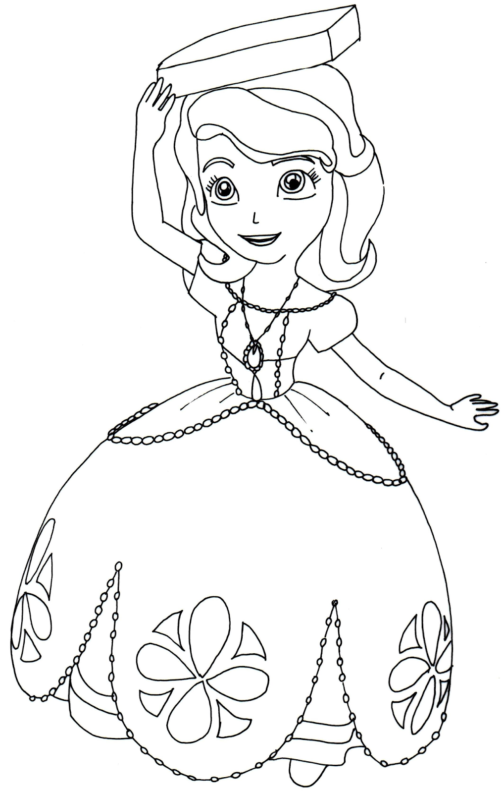 Sofia Coloring Pages Pdf : Sophie the first coloring pages az