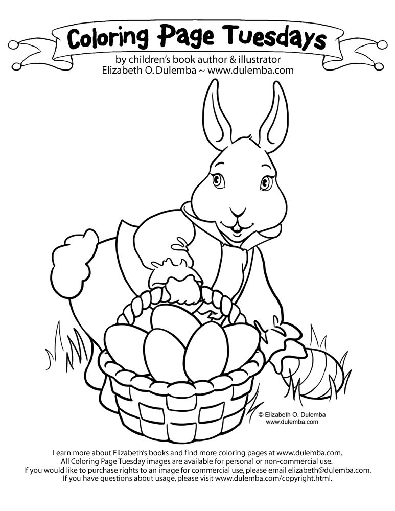coloring pages easter bunny - images of easter bunnies coloring home
