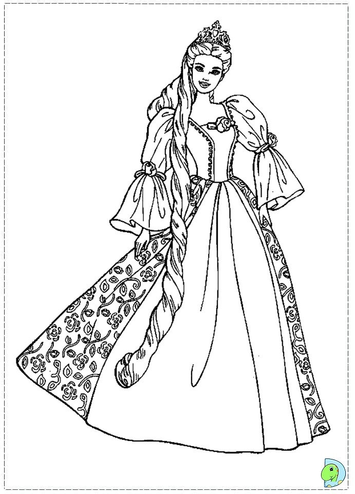 Barbie The Princess And The Pauper Coloring Pages Barbies Princess And The Pauper Printable