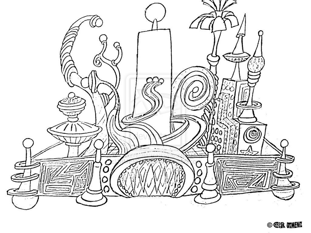 Walt Disney World Coloring Pages Free