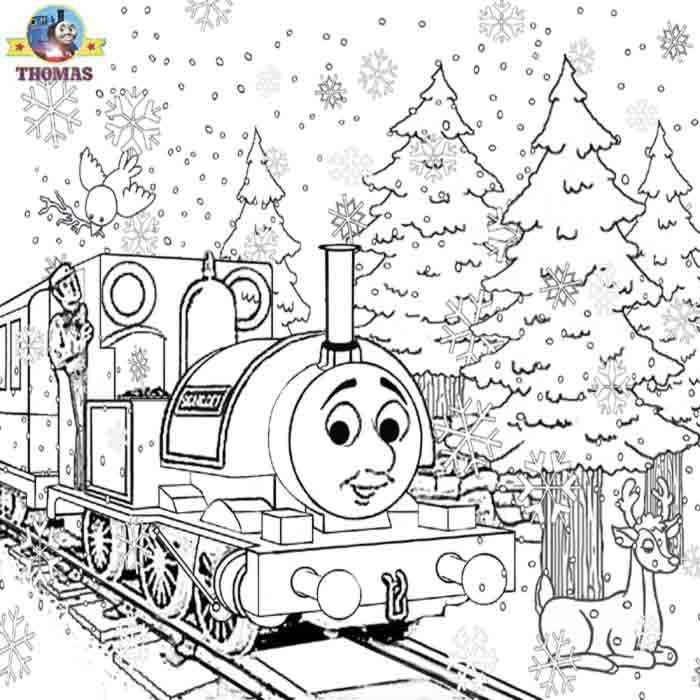thomas coloring pages train engineer - photo#44