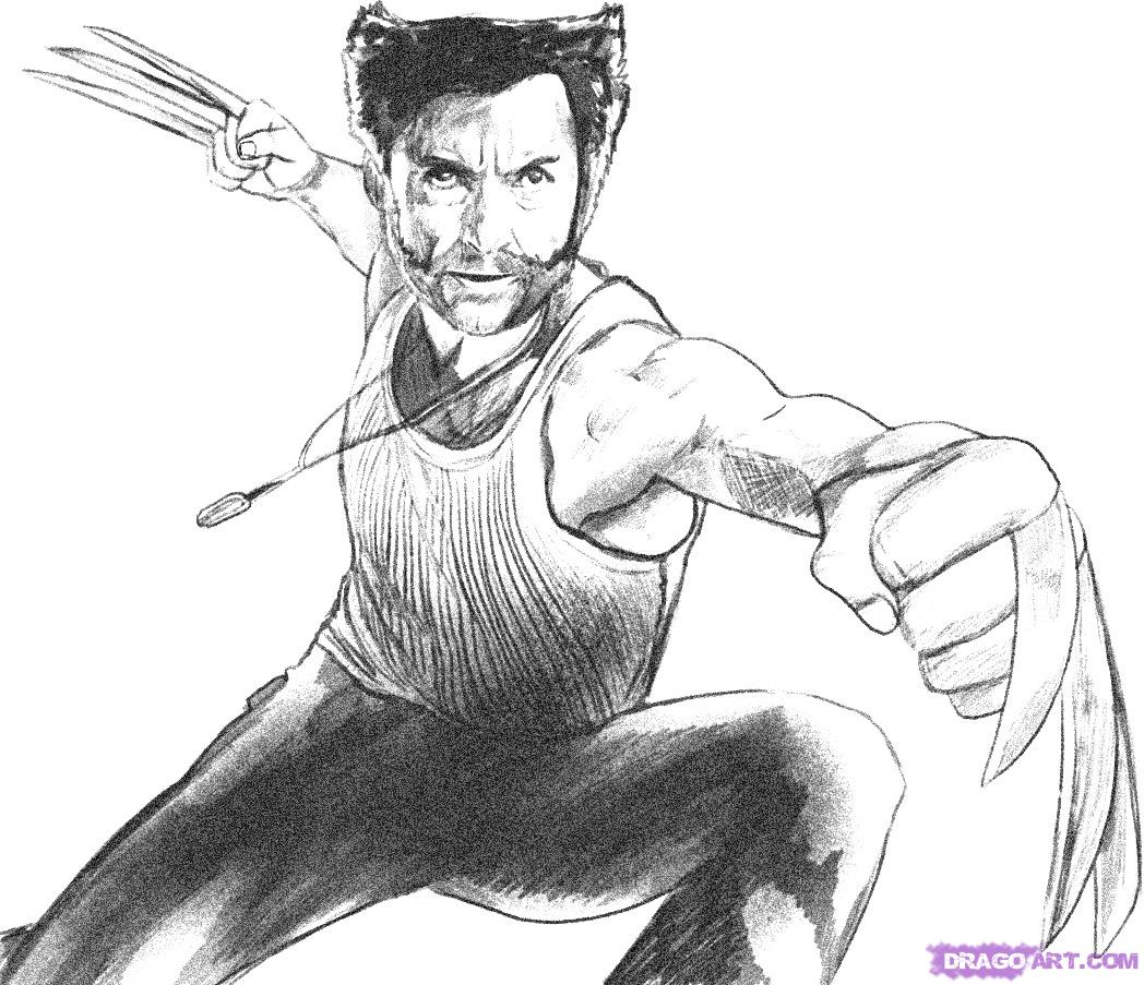 11 pics of wolverine origins coloring pages easy wolverine x men