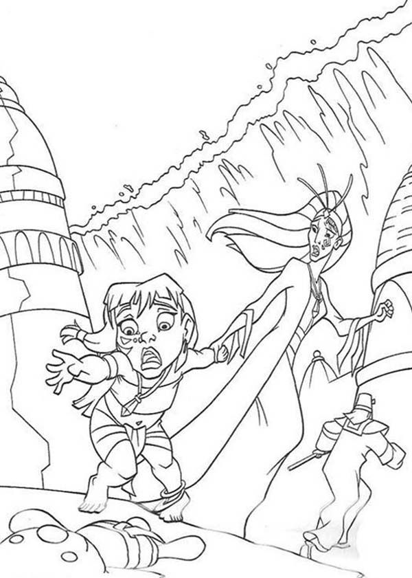 Atlantis The Sunken City Coloring Pages