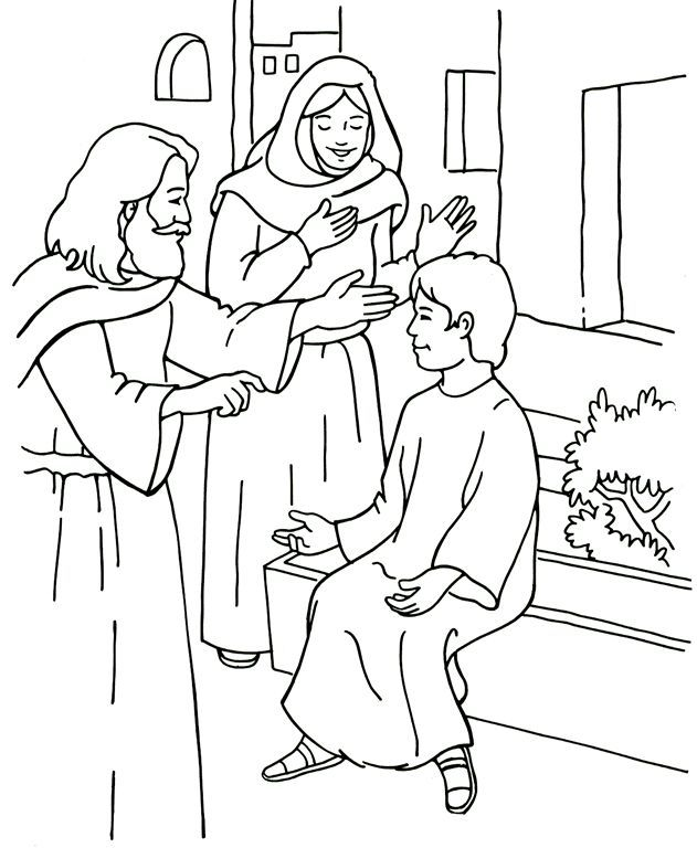 Bible stories - colouring pages ...