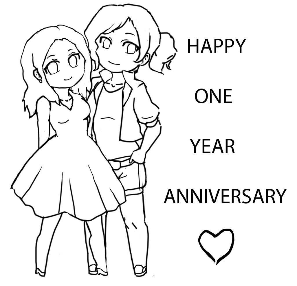 happy anniversary coloring pages coloring home