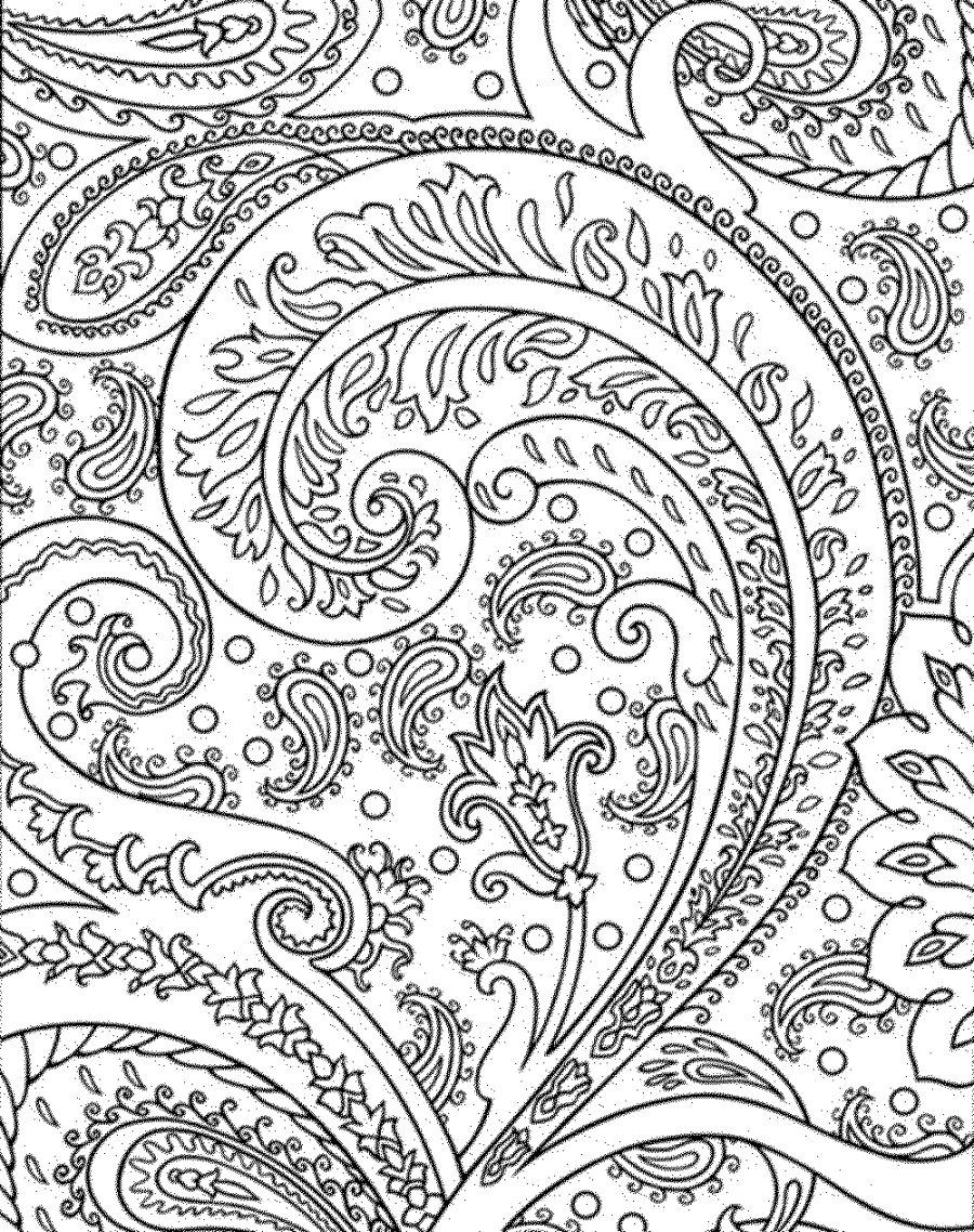 Detailed Coloring Pages For Adults - Coloring Home