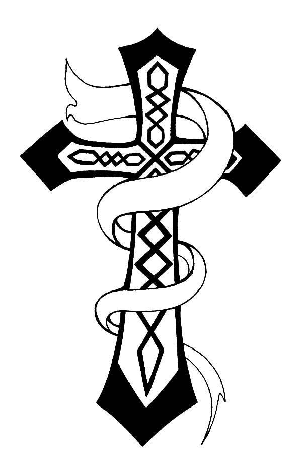 Christian Celtic Cross Coloring Pages | Best Place to Color