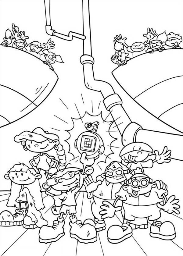 coloring pages of door - photo#43