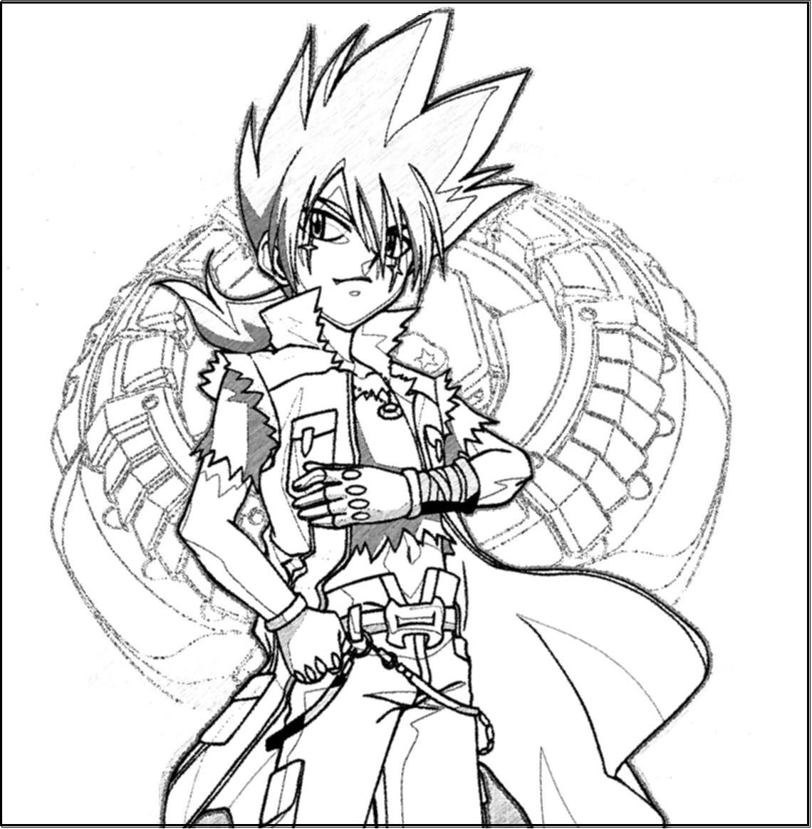 beyblade coloring pages print colors - Beyblade Coloring Pages