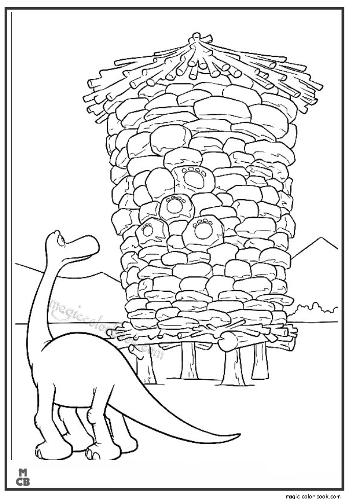 Free The Good Dinosaur Coloring Pages, Download Free Clip Art ... | 975x685