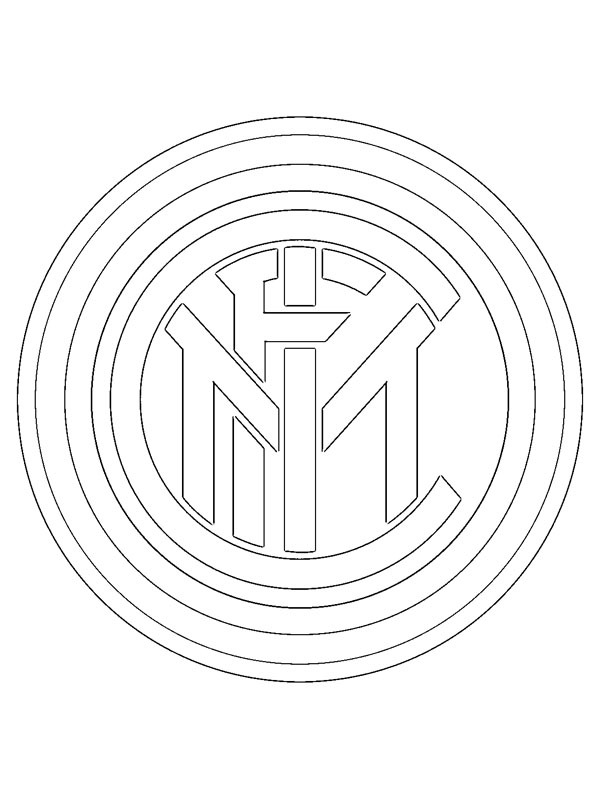 colouring page Inter Milan | coloringpage.ca