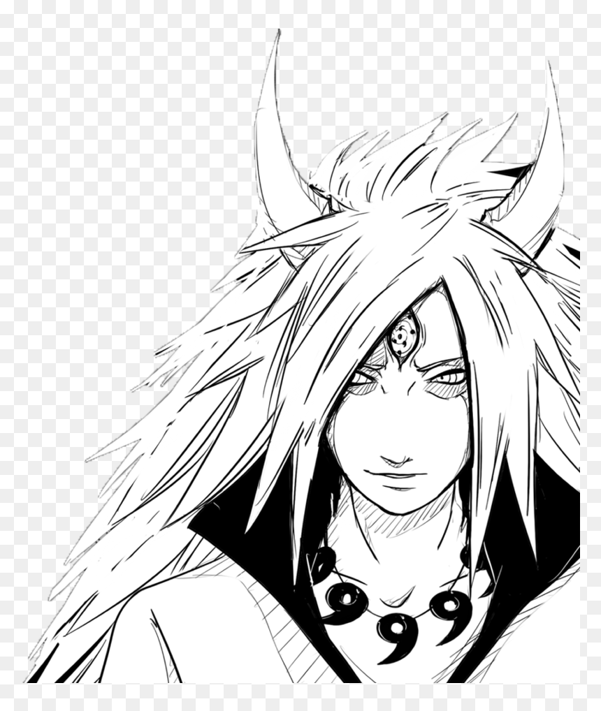 No Caption Provided - Madara Uchiha Coloring Pages, HD Png Download - vhv