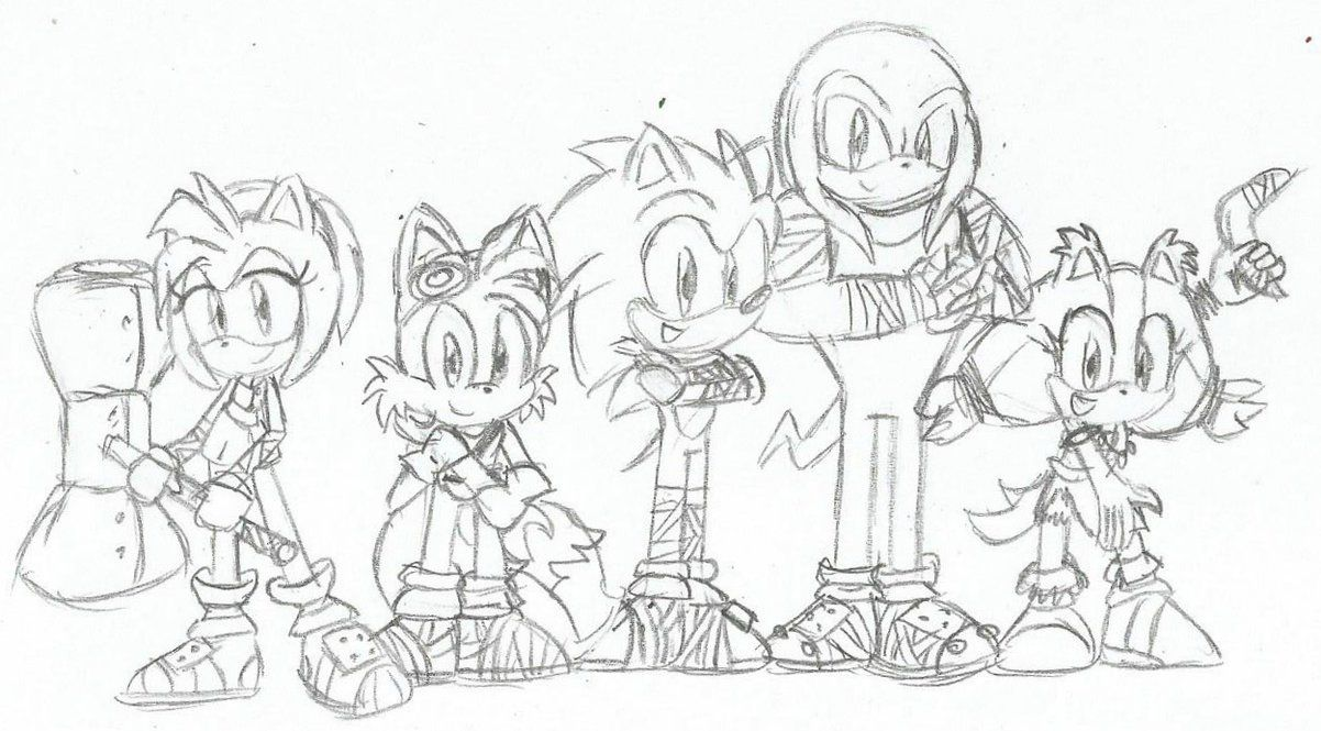 Sonic The Hedgehog Boom Coloring Pages High Quality Coloring