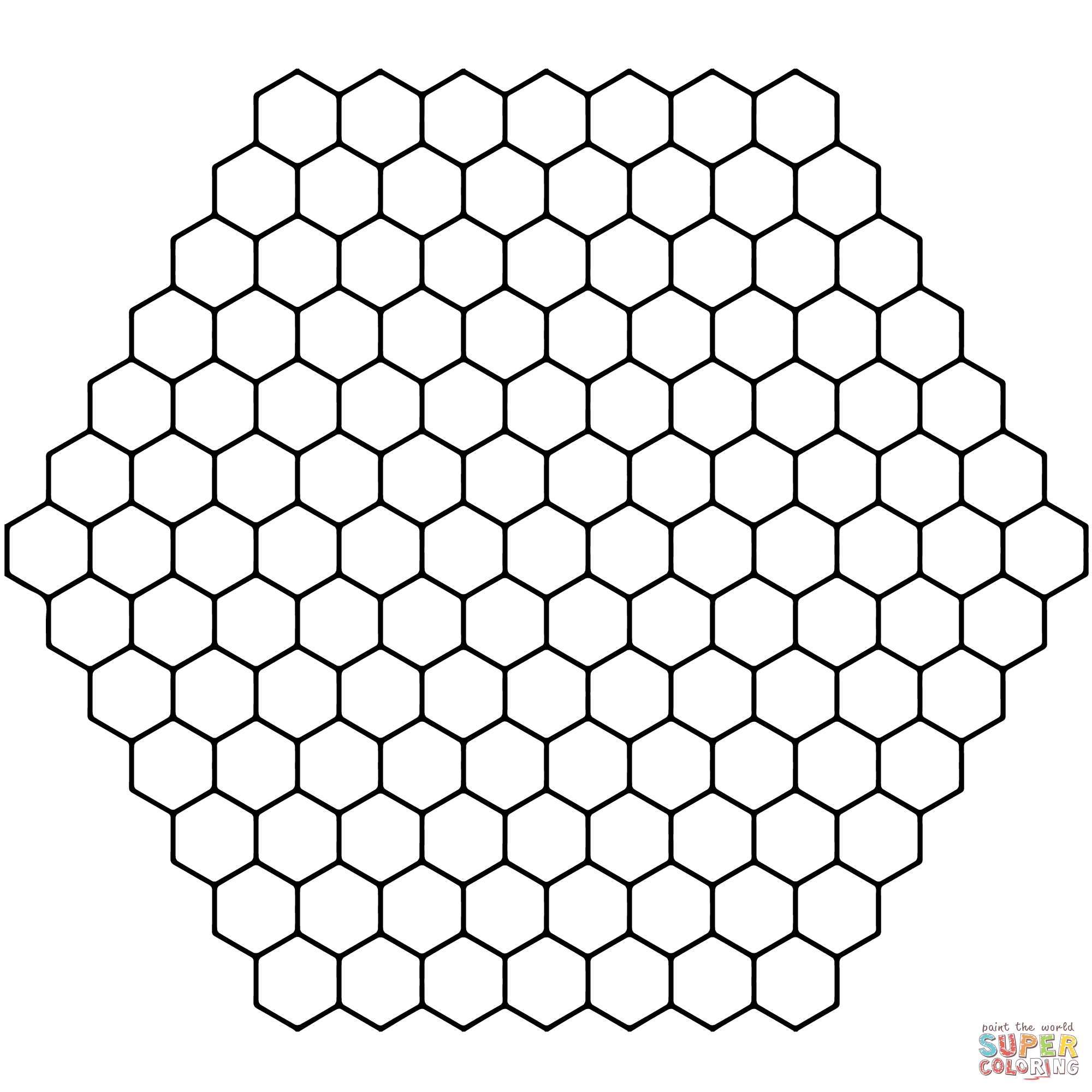 Tessellations coloring pages | Free Coloring Pages