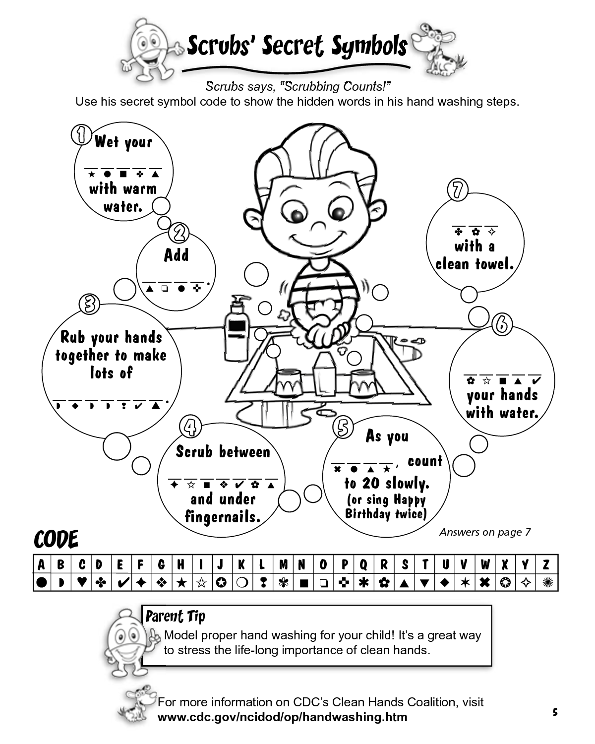 free hand washing coloring pages | Best Coloring Page Site