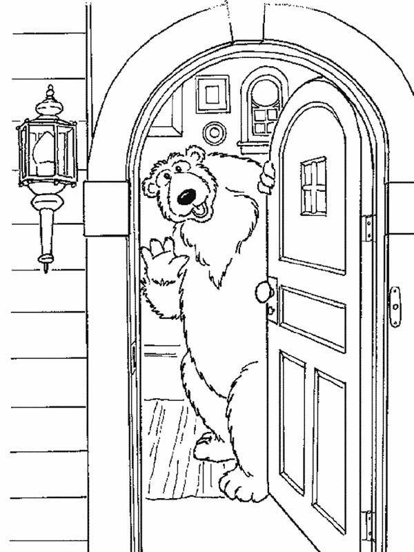 Раскраска дверей своими руками 41