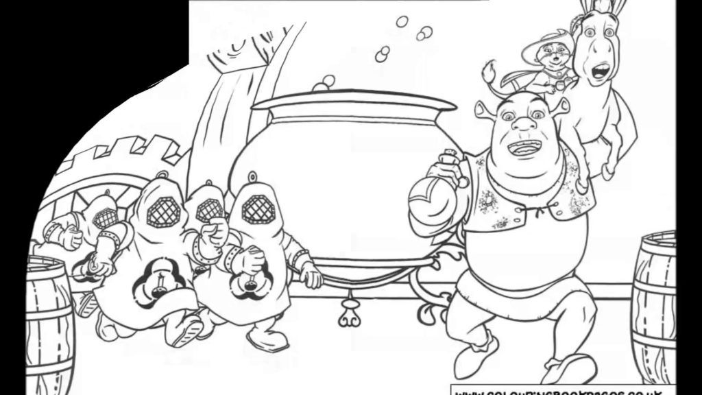 shrek babies coloring pages - photo#18